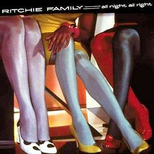 All Night All Right - Ritchie Family (2015, CD NEUF)