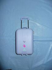 RARE American Girl Doll Lavender Travel Bag Luggage Suitcase w/Hair Rollers MYAG