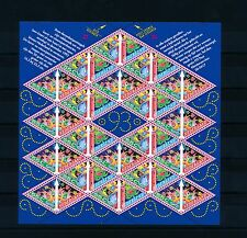 [17035] Netherlands Niederlande 1993 Christmas Sheet MS MNH NVPH 1579-80