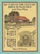 100 Turn-of-the-Century Brick Bungalows with Floor Plans by Rogers and Manson...