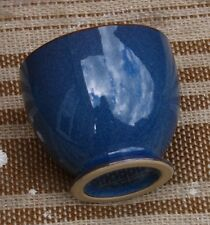 DENBY BOSTON BLUE SMALL BOWL WITH FOOT OPEN POSS SUGAR?