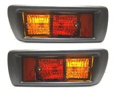Toyota Land Cruiser 90/95 1996-2002 Tail Rear Bumper Fog Lights Lamps LH+RH SET