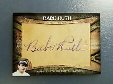2015 Topps Series 2 BABE RUTH Certified Autograph Signature Auto Cut Card 1/1