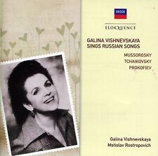 Galina Vishnevskaya, - Galina Vishnevskaya Sings Russian Songs [New CD]