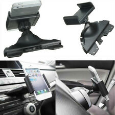 Universal CD Player Slot Car Auto Mount Holder Cradle For Mobile Smart Phone New