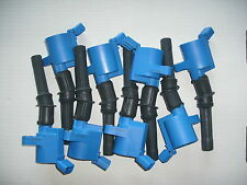 Set of 8 Heavy Duty Ignition Coils DG-508 BLUE