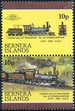 1866 Consolidation No.63 (Lehigh Valley Railroad) Train Stamps (Bernera)