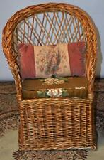 Vintage Wicker Child's Chair, Play Room Furniture - Free Delivery [PL2360]