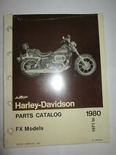 Harley Davidson NOS FX Shovelhead 1971-1980 Parts Manual