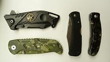 LOT 1: 4 FOLDING KNIVES DEFENDER XTREME CRYOGENIC INDUST FIGHTER RUKO JY6005 MX2