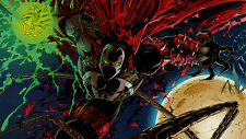 Spawn - Huge Wall  Poster  22 in x 34 in ( Fast Shipping ) 119