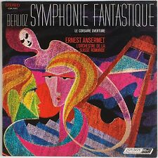 BERLIOZ: Symphonie Fantastique ANSERMET LONDON FFrr CSA 2101 2x LP NM-