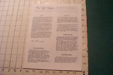 Vintage High Grade THE DGC DISPATCH detroit gaming center ISSUE ONE 1980, 4pgs