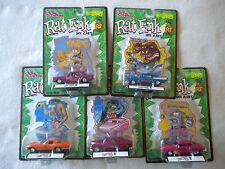 Lot Of 5 Racing Champions Ed Roth Rat Fink Die Cast Cars.1989 NIP Exc Cond...t-3