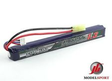 Trattamento NANOTECNOLOGICO 1300mah 3 CELLE Airsoft Lipo Battery Pack 11.1v 25 - 50 C