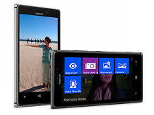 Nokia Lumia 925 - 16GB-Windows 8 Teléfono inteligente Desbloqueado Negro/Gris
