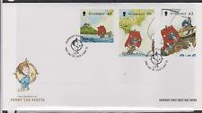 GB - GUERNSEY 2010 Penny the Postie Europa/Children's Books SG 1333/5 FDC SHIPS