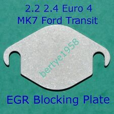 EGR Valve Blanking Plate Ford MK7 Transit 2.2 2.4 tdci Land Rover 2.4 Some Taxis