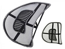 MESH LOWER BACK LUMBAR SUPPORT PAIN RELIEF MASSAGE CAR OFFICE CHAIR SEAT SD