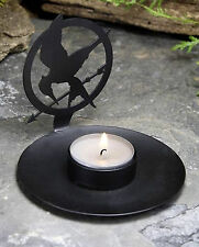 The Hunger Games Flames Mockingjay Shadow Casting Tea Light Candle Holder NECA