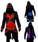Cool Stylish Creed Hoodie Men's Cosplay For Assassins Jacket Coat Costume BNWT