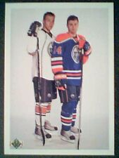 TAYLOR HALL / JORDAN EBERLE  10/11 UD 20th ANNIVERSARY YOUNG GUNS ROOKIE CARD SP