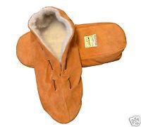 Neu Echt Leder Hausschuhe Mokassins  Puschen Pantoffeln  21 bis 48 Hüttenschuhe