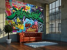 Graffiti Mural Wallpaper Wall Covering Photo Wall 82.7 inch- 55.5 inch BZ673