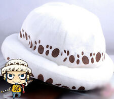 FD4140 Anime One Piece Trafalgar Law Hat Cosplay Plush Cap Two Years Later Hat*