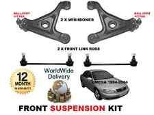 Pour Vauxhall Omega Avant 2 Bras clavicule 2 stabilisateur link bars Kit de suspension