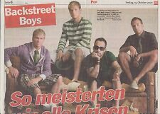 """Backstreet Boys """"Collection"""" of international reporters and articles..."""
