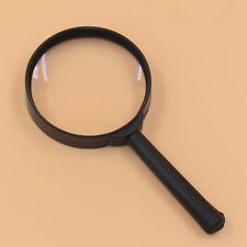 60mm Hand Held Reading 5X Magnifying Magnifier Glass Lens Jewelry Loupe Zoomer