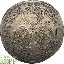 F327) Nürnberg, Stadt Reichstaler 1627 mit Titel Ferdinand II.