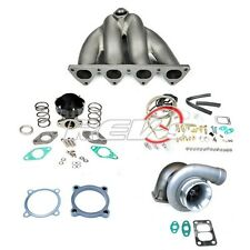 REV9 CIVIC CRX EF EG EK D15 D16 DSERIES SOHC GT35 TOP MOUNT MANIFOLD TURBO KIT