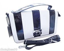 Womens Fashion PVC Handbag Ladies Classic Tote Bag Casual Shoulder Messenger Bag