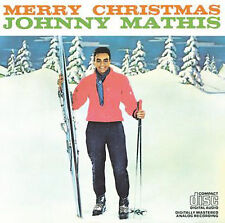 Merry Christmas by Johnny Mathis (CD, Oct-1984, Columbia (USA))