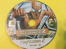 Marvel Ultimate Alliance 2 PS2 NTSC-J/Japan.  Disk Only.  FREE Shipping