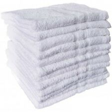 6 NEW WHITE SOFT 100% COTTON HOTEL BATH TOWELS 22x44 ROYAL REGAL BRAND