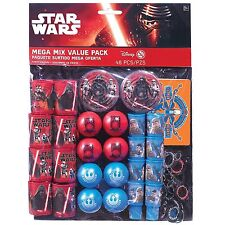 48pc Disney Star Wars The Force Awakens Birthday Party Favor Mega Mix Value Pack