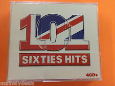 101 Sixties Hits 4 Disc 4 Cd's Music CD Music From EMI