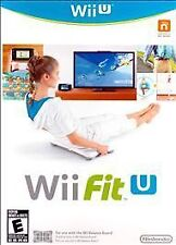 Wii Fit U RE-SEALED Nintendo Wii U GAME ONLY