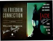 William Friedkin signed & dated The Friedkin Connection 1/1 HC book + Jade DVD