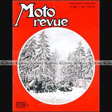 MOTO REVUE N°1963 ★ VINCENT 1000 BLACK LIGHTNING ★ ELEPHANTS, BRANDS HATCH 1970