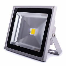 50W Warm White LED Flood light Outdoor Landscape Lamp IP65 UK Seller AC85V-265V