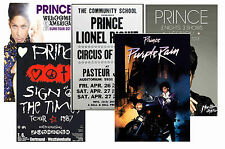 PRINCE - SET OF 5 - A4 POSTER PRINTS # 1