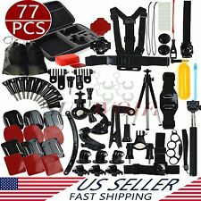 US Accessories Case Bundle Head Bag Kit for Go pro HD Hero Camera 1 2 3 3+ 4 5