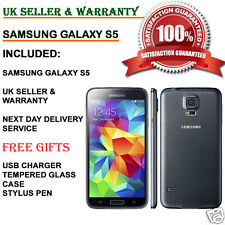 Samsung Galaxy S5 SM-G900F 16GB 4G Unlocked Smartphone Charcoal Black UK GRADE B