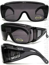 Large Will Fit Over Most Rx Glasses Sunglasses Smoke 83SM