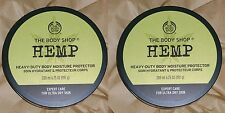 The Body Shop Butter 2x HEMP Heavy Duty Moisture Body Protector NEW - Lot of 2