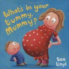 NEW WHAT'S IN YOUR TUMMY, MUMMY? LIFT THE FLAP & POP UP BOOK PREGNANCY HOM